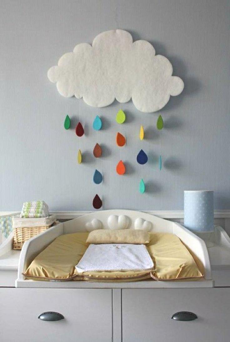 deco nuage chambre enfant suspension