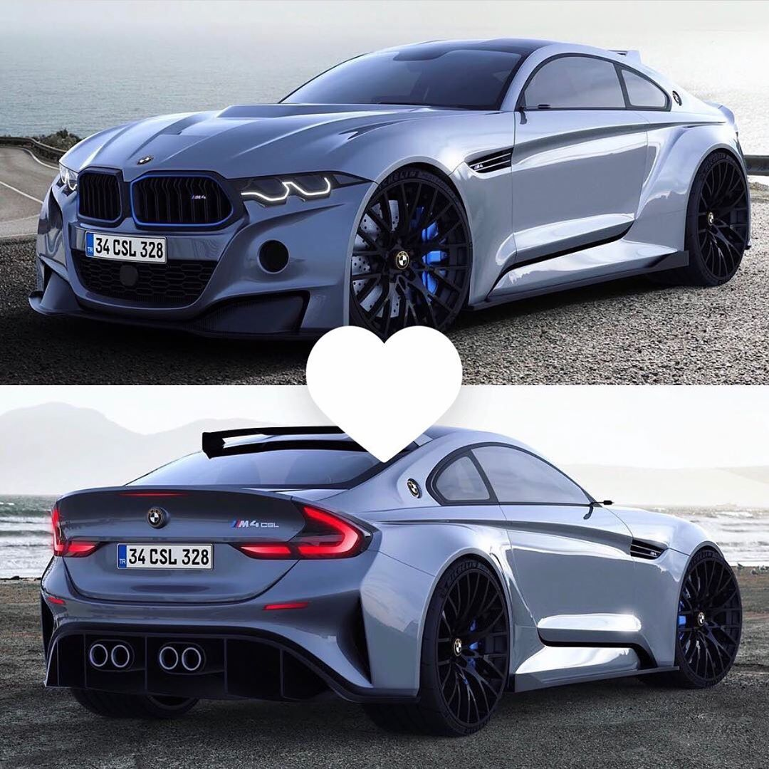 Click On The Picture For More Bmw M4 Csl Like Edit