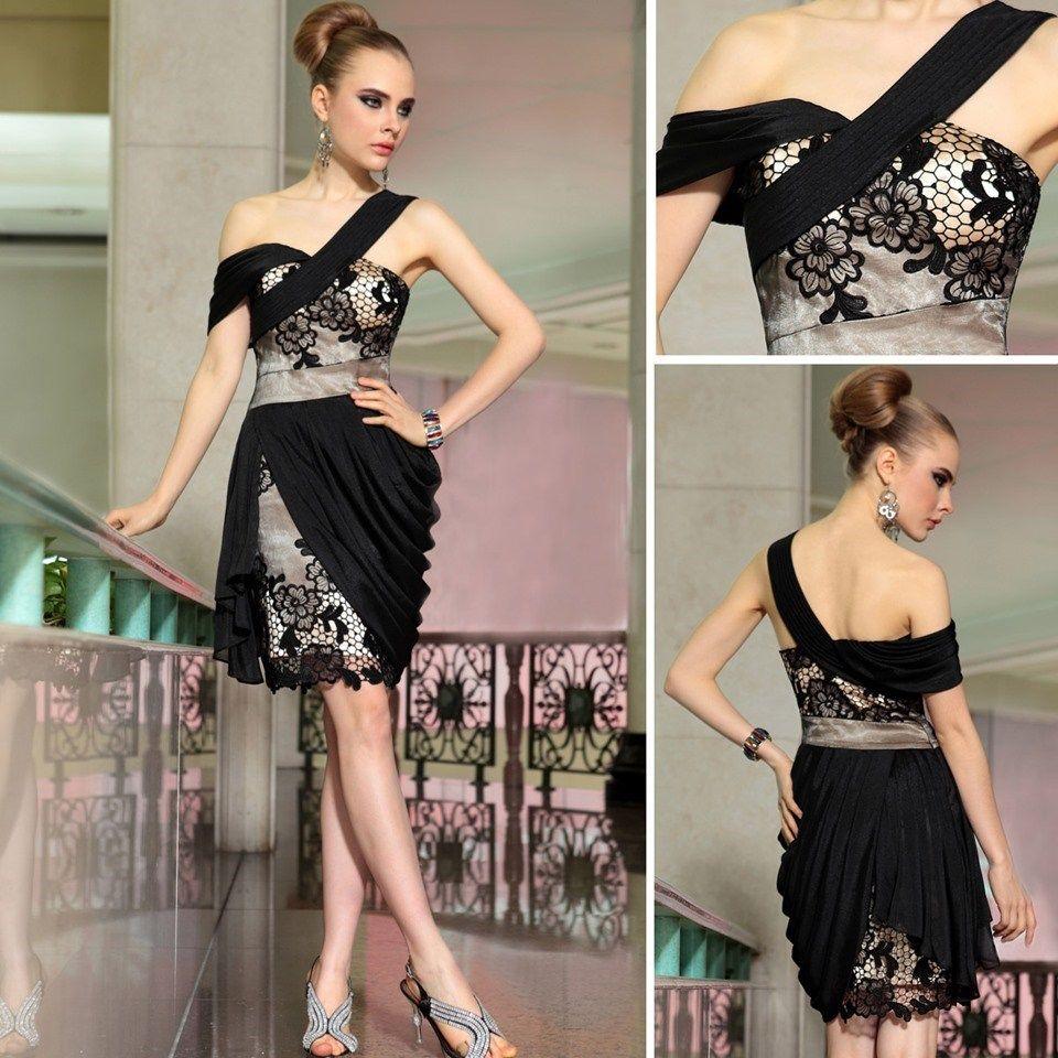 Black vintage cocktail dress vintage black floral dress lace black