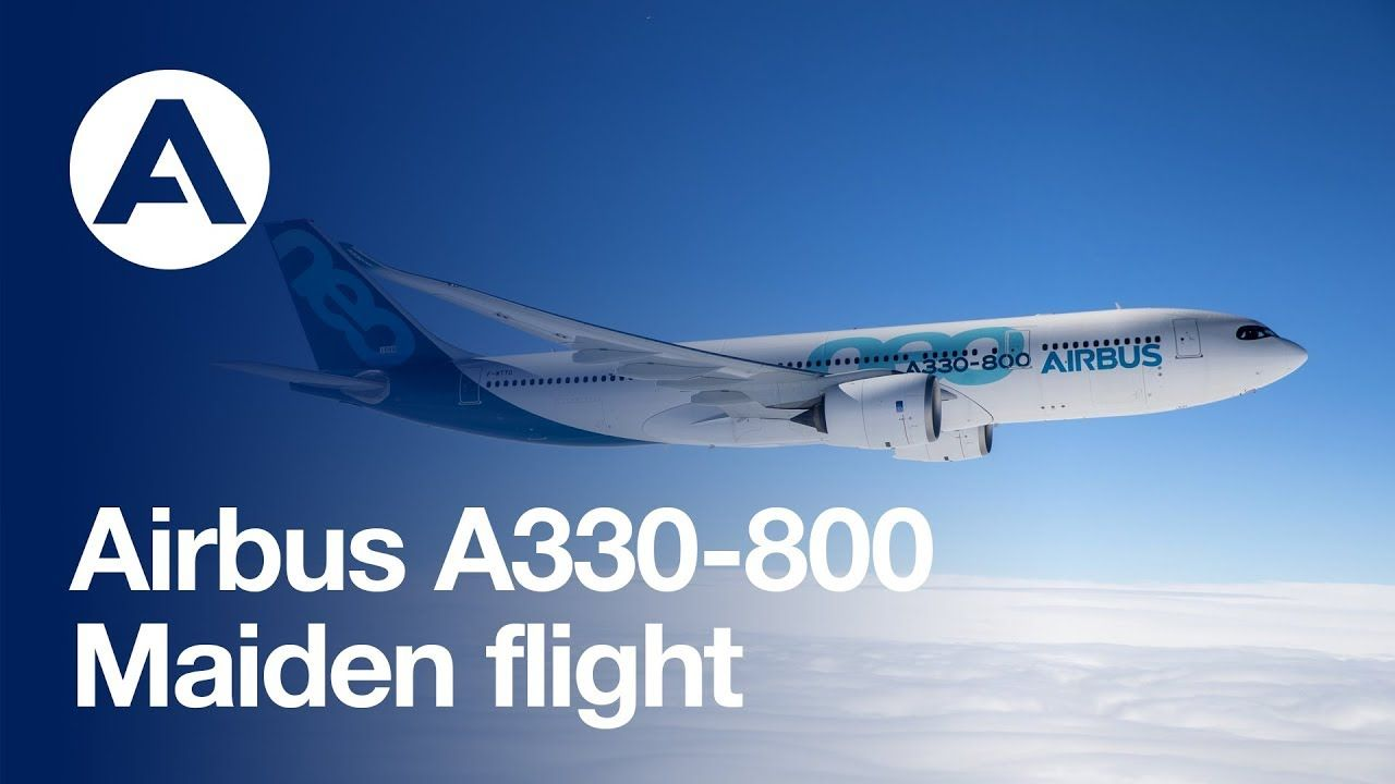 Airbus A330 800 Performs Its First Flight