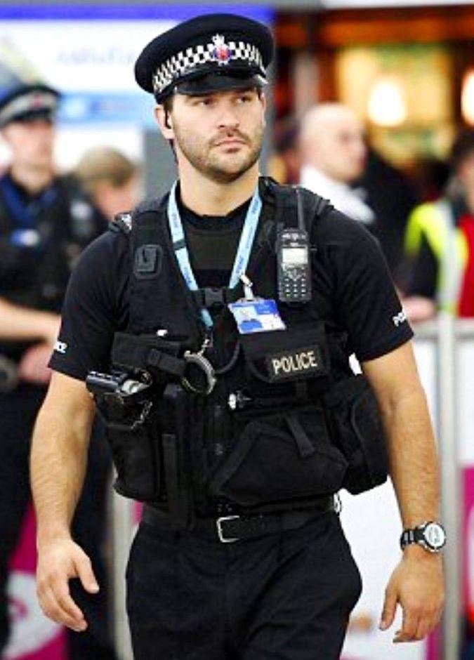 British Policeman Men In Uniform Hot Cops Men