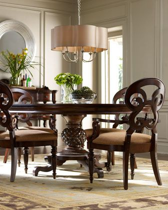 Horchow Marie Dining Furniture Dining Furniture Traditional