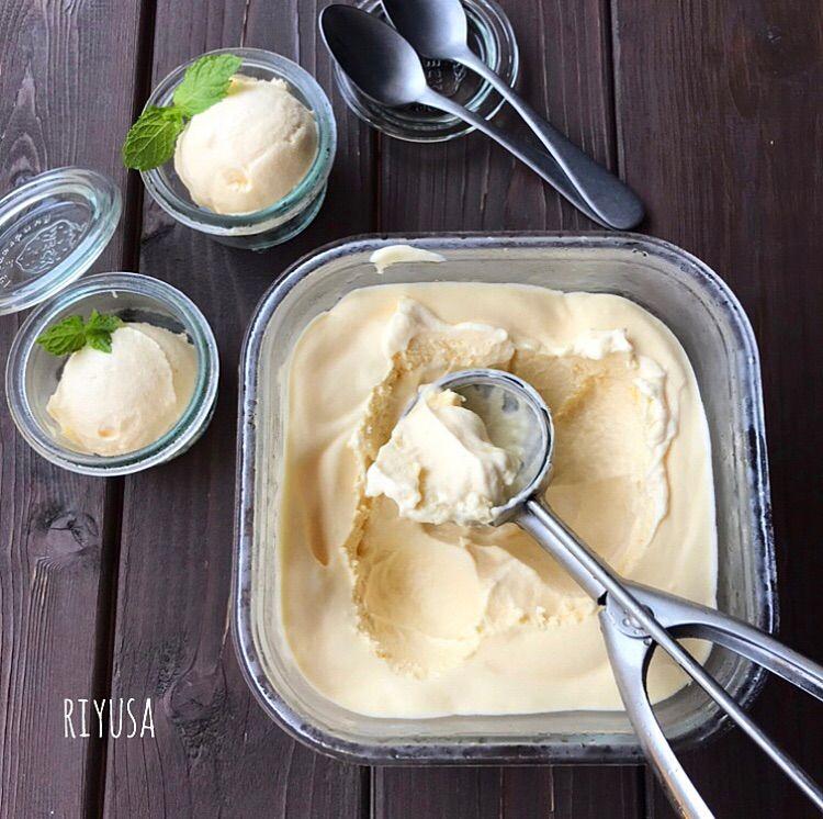 の 簡単 バニラ 作り方 アイス
