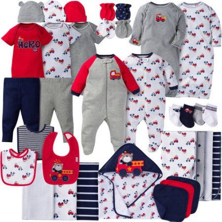 27c769944 Gerber Newborn Baby Boy Perfect Baby Shower Gift Layette Set