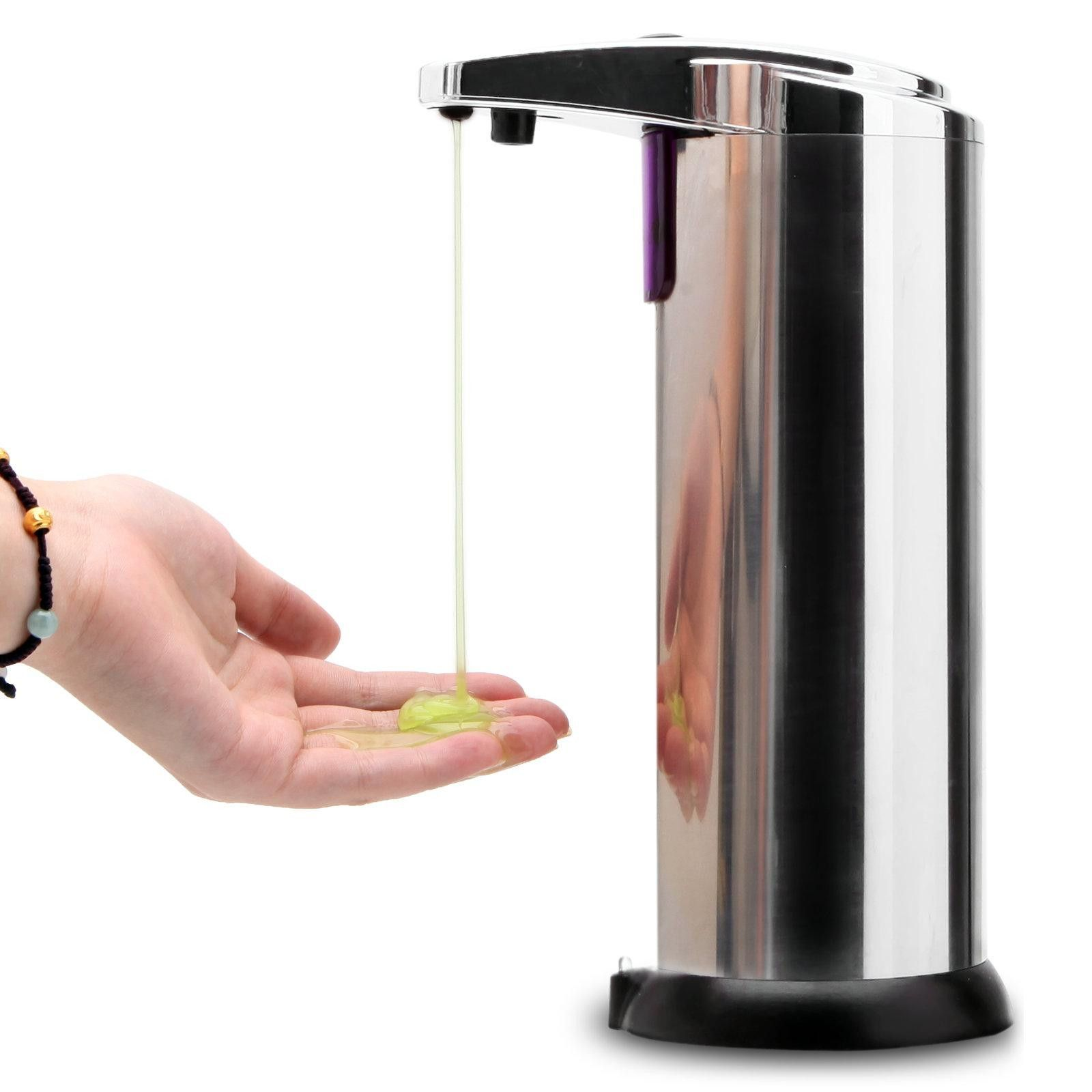 Sensor Soap Dispenser Stainless Steel Automatic Hands Free