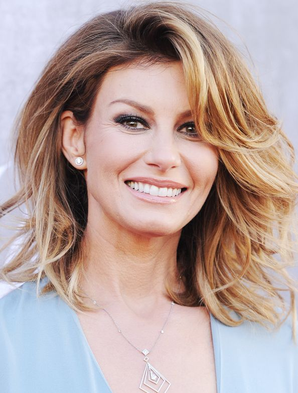 Cute Country Hairstyles: Country Superstar Faith Hill Turns 47! See The Southern