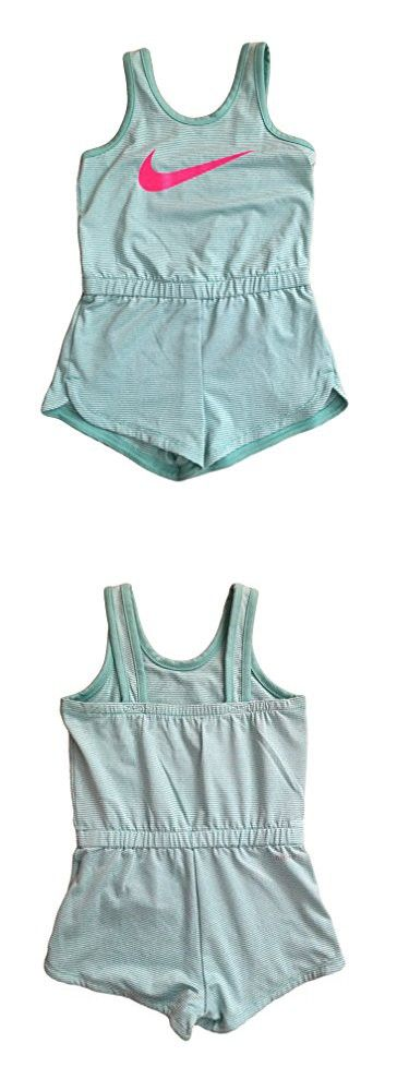 18553599c NIKE Infant Toddler Girls Dri-Fit Sports Romper Dark | Rompers ...