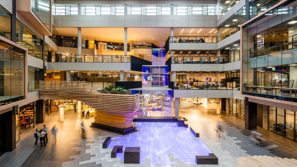 one microsoft place ireland projects gensler retail