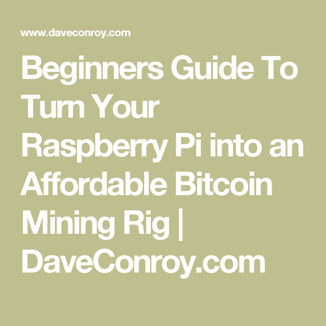 how to get into mining bitcoin