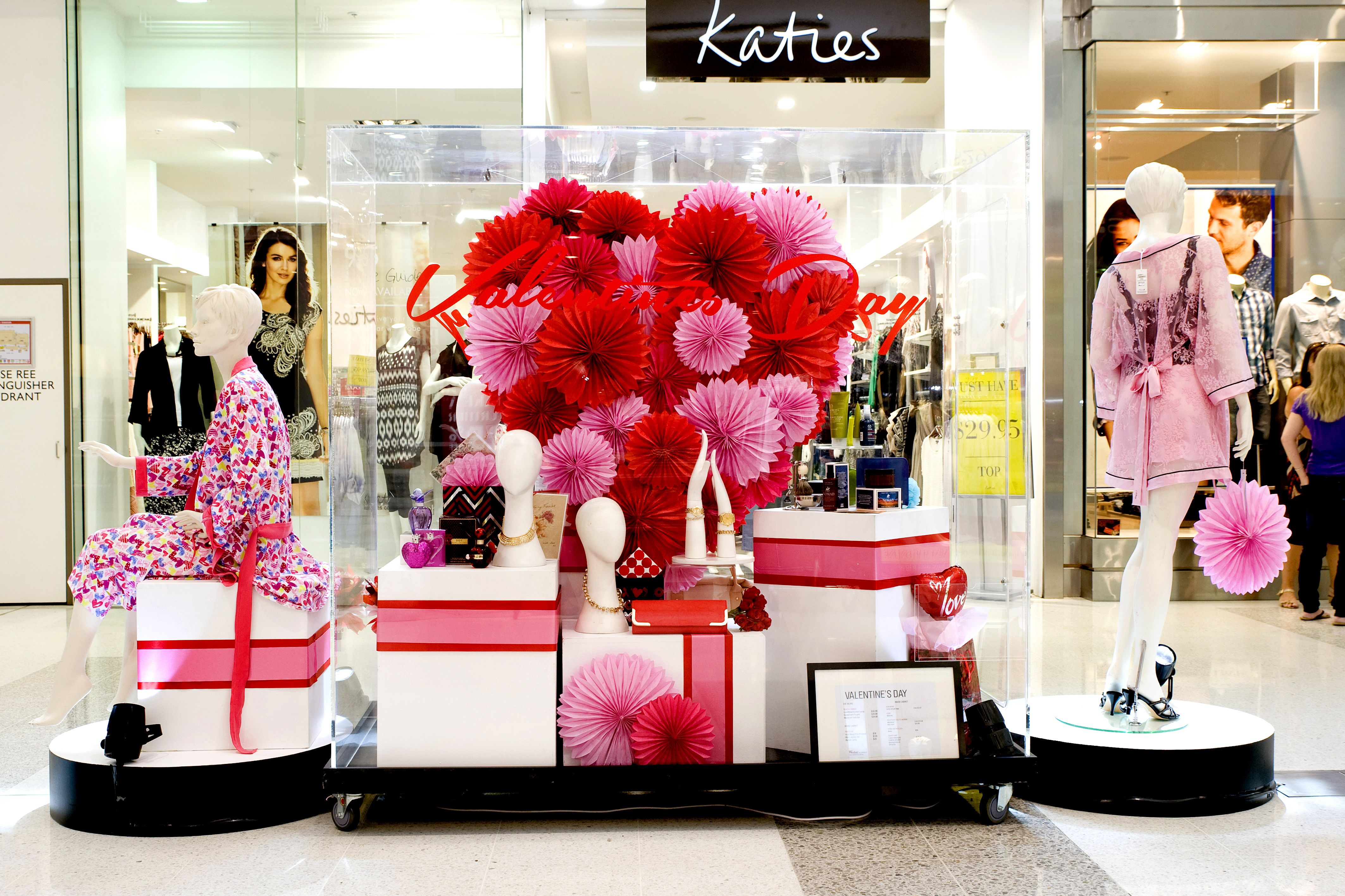 Valentines Day Vm Display By Our Talented Vm Team At Westfield