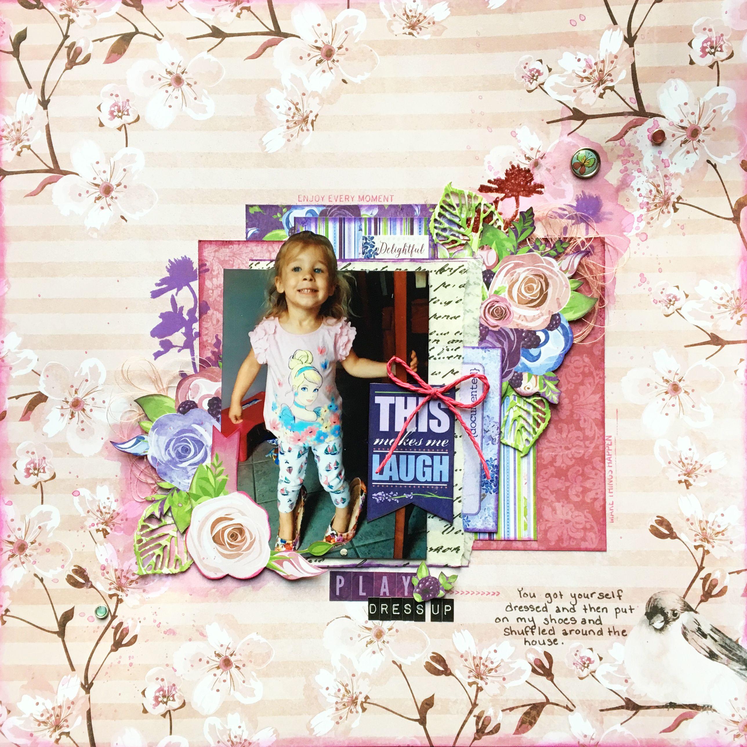 Play+Dress+Up - BoBunny - Secret Garden Collection | Bo Bunny Secret ...