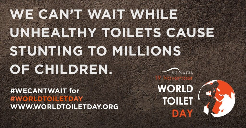 #WorldToiletDay
