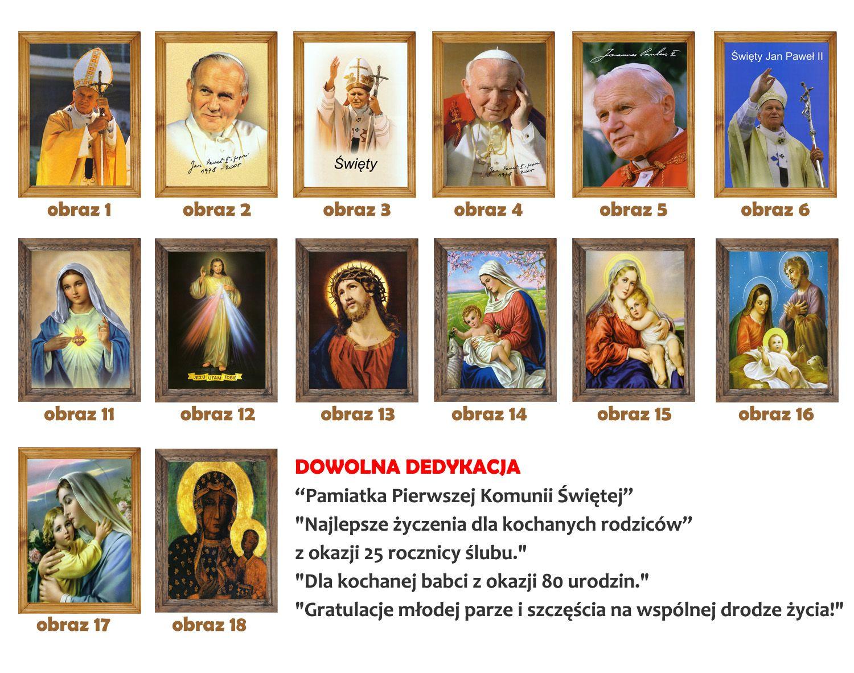 Obrazy Religijne Dedykacja With Images Obrazy Plakat Plotno