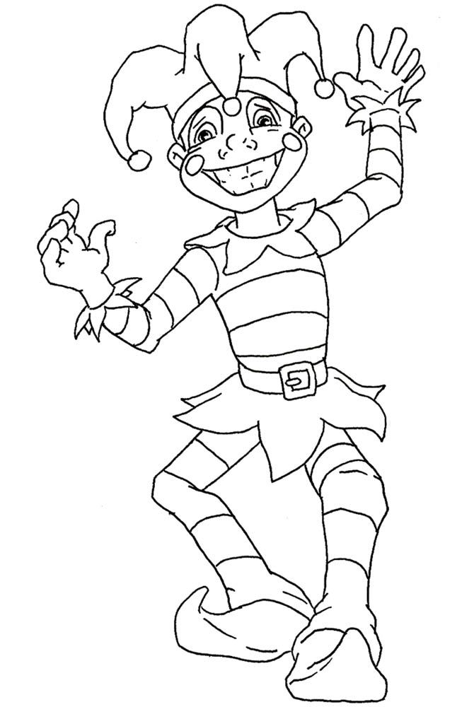 More Mardi Gras Coloring Pages