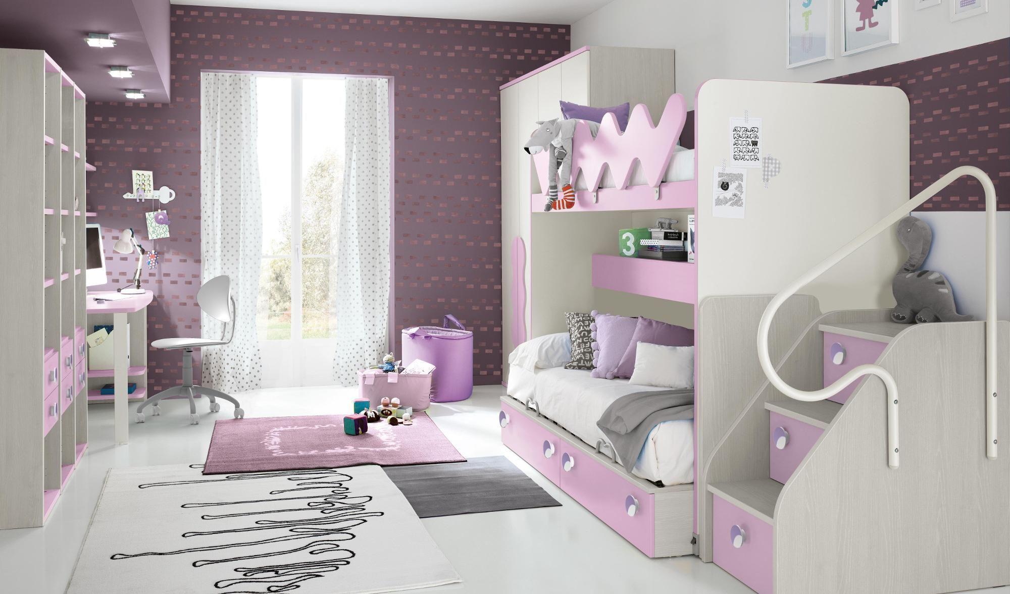 Arredo camere da letto per bambini e camerette per ragazzi