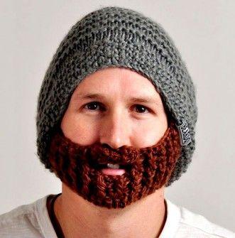 Invento - Gorro de lana con Barba incorporada  f7bfc09bed5d