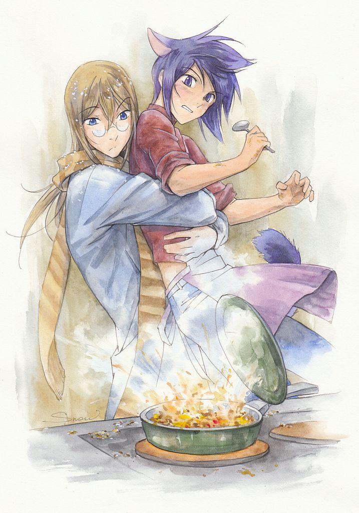 неправильная сковородка Loveless anime, Loveless manga