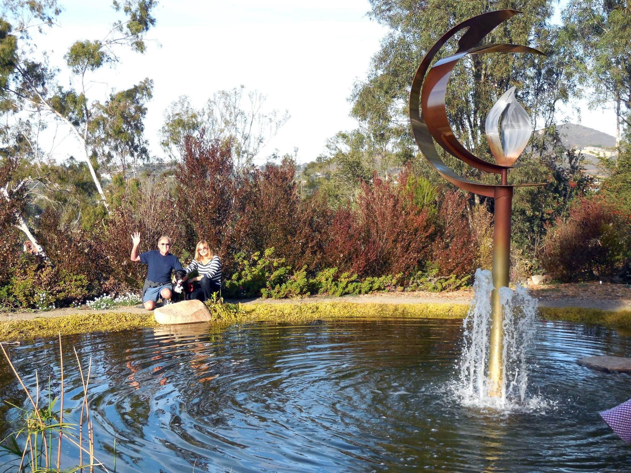 Bill and Naomi Stein in the Ceremonial Garden | Alta Vista Botanical ...