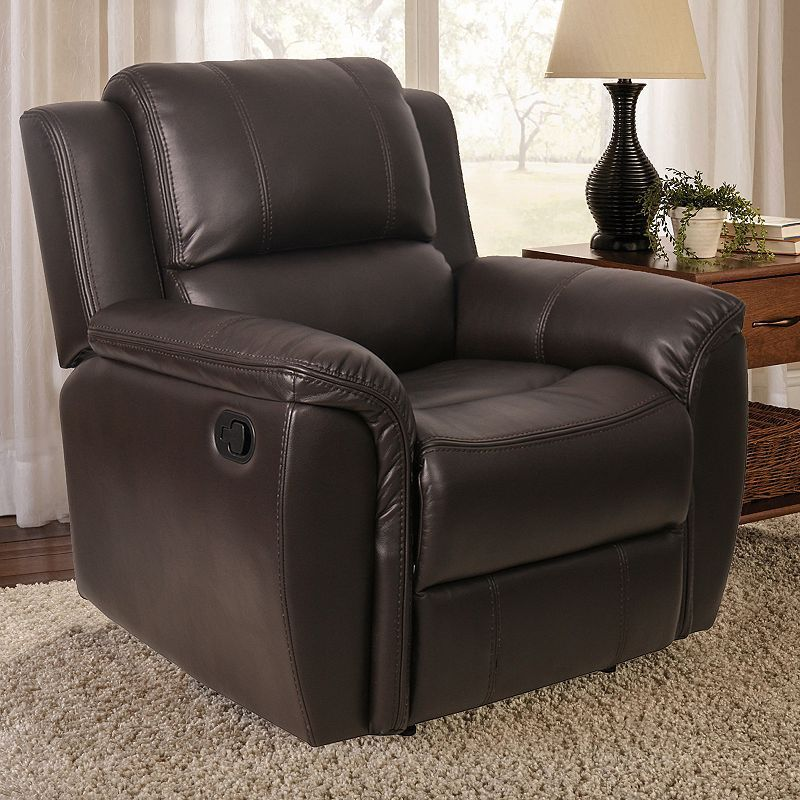 Awesome Skylar Recliner Arm Chair Recliner Brown Leather Recliner Gmtry Best Dining Table And Chair Ideas Images Gmtryco