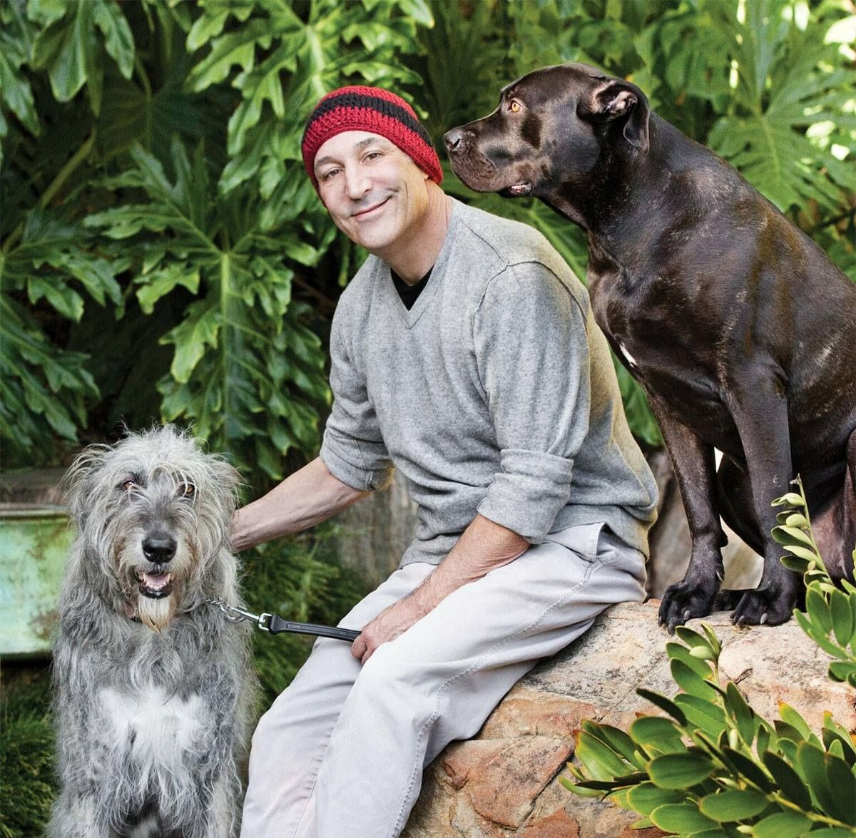 """When co-creator of 'The Simpsons', Sam Simon was diagnosed with terminal cancer, he went on a spending spree – buying up notoriously cruel roadside zoos and circuses, because he wanted to """"see animals walk in grass for the first time"""". During his life, Sam has given millions away to animal causes and now plans to spend the rest of his days giving away the rest of his fortune to charity. On behalf of the animals, thank you Sam. — with Sam Simon."""