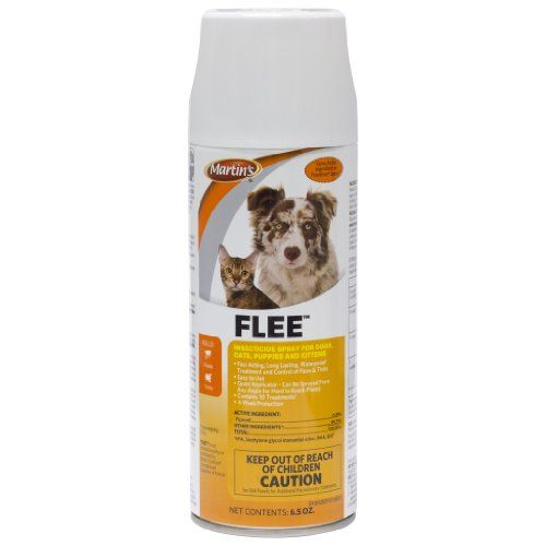Martin S Flee Flea And Tick Insecticide Spray For Dogs Cats Fipronil Aerosol 12 3 Oz Cat Fleas Flea And Tick Spray Flea Spray For Dogs