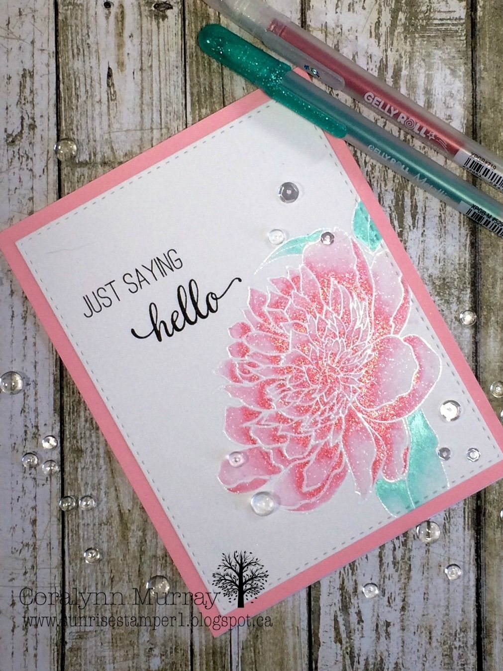 A blog about paper crafting and close to my heart products
