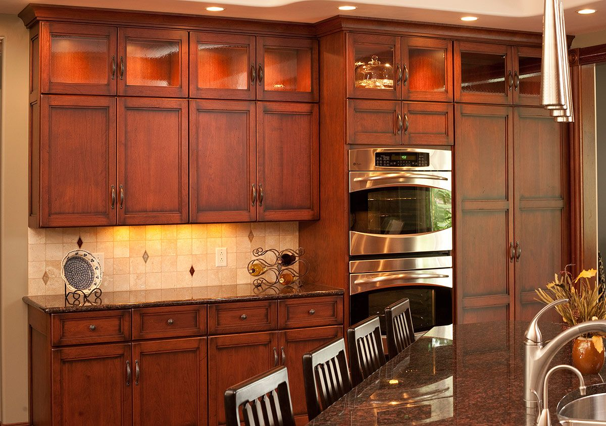 amish kitchen cabinets pennsylvania   it u0027s time to take a fresh look in the home layout and think about the kitchen cabinet p traditional birch kitchen   mullet cabinet   kitchen   pinterest      rh   pinterest com
