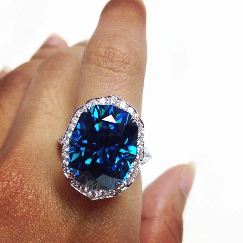 13+ Blue zircon jewelry for sale viral