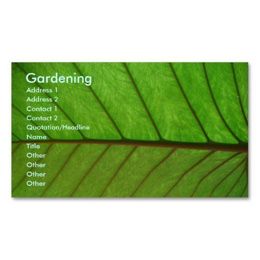 Gardener business card templates gardener landscapers gardener business card templates accmission Image collections