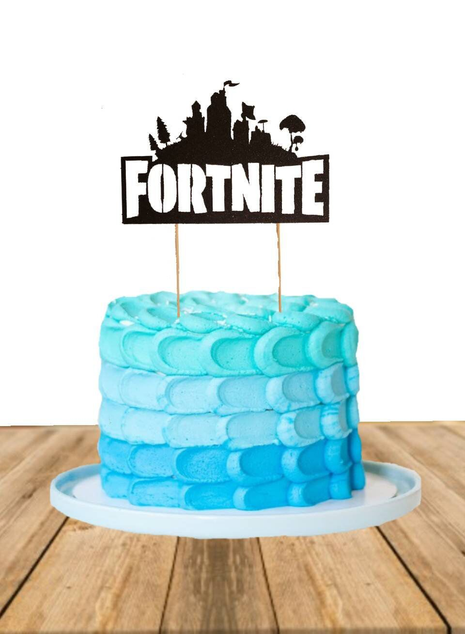 Excited To Share This Item From My Etsy Shop Fortnite Cake Topper