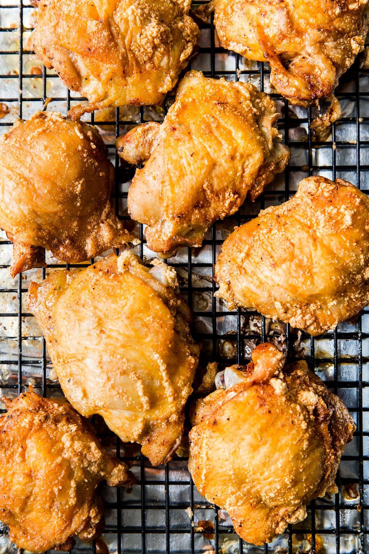 Baked Bone In Chicken Thigh Recipes