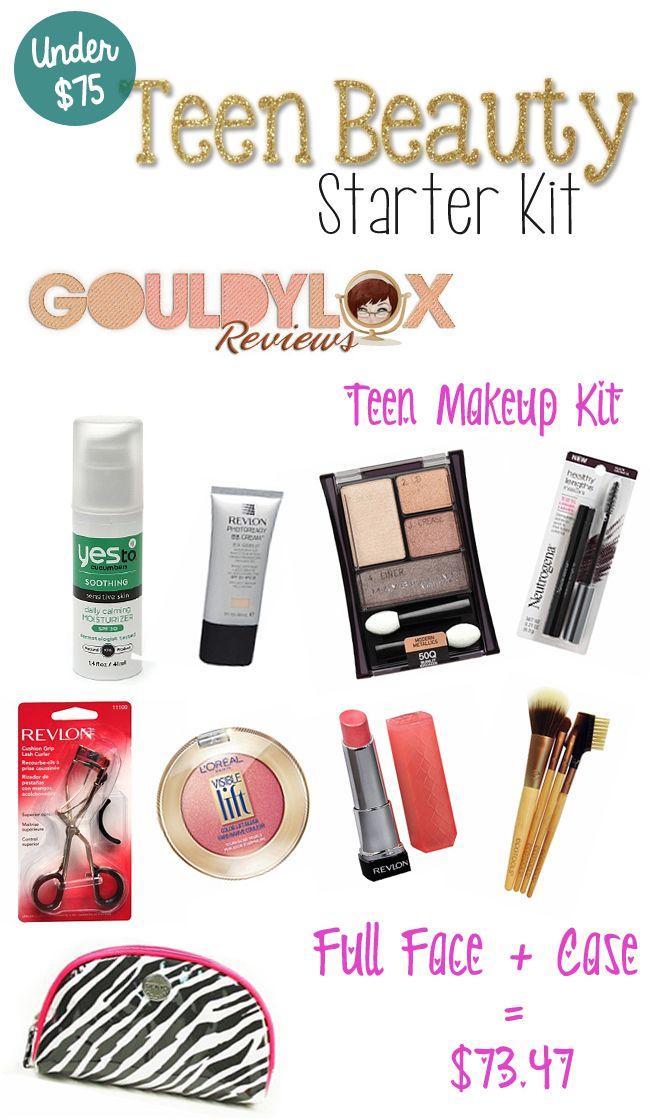 Starter makeup kit for tweens