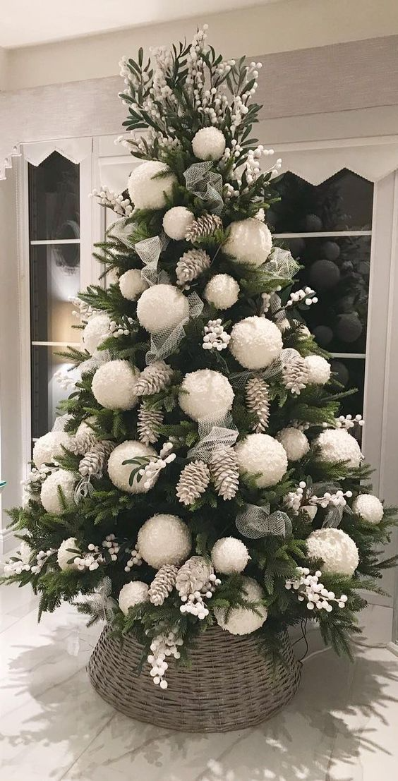 60 White Christmas Decor Ideas Which are Effortles