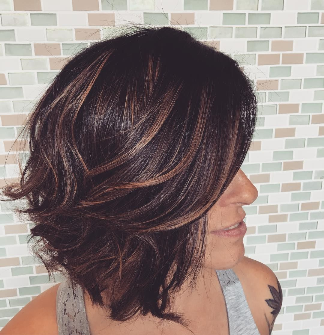 Stylish Short Wavy Hairstyles u Pure Charm SEASONS Pinterest
