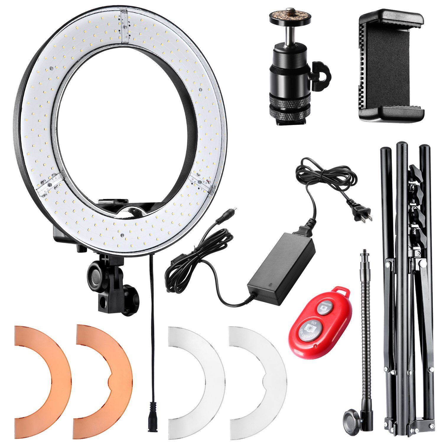 Ring Light Kit Led Ring Light Dslr Accessories Led Ring