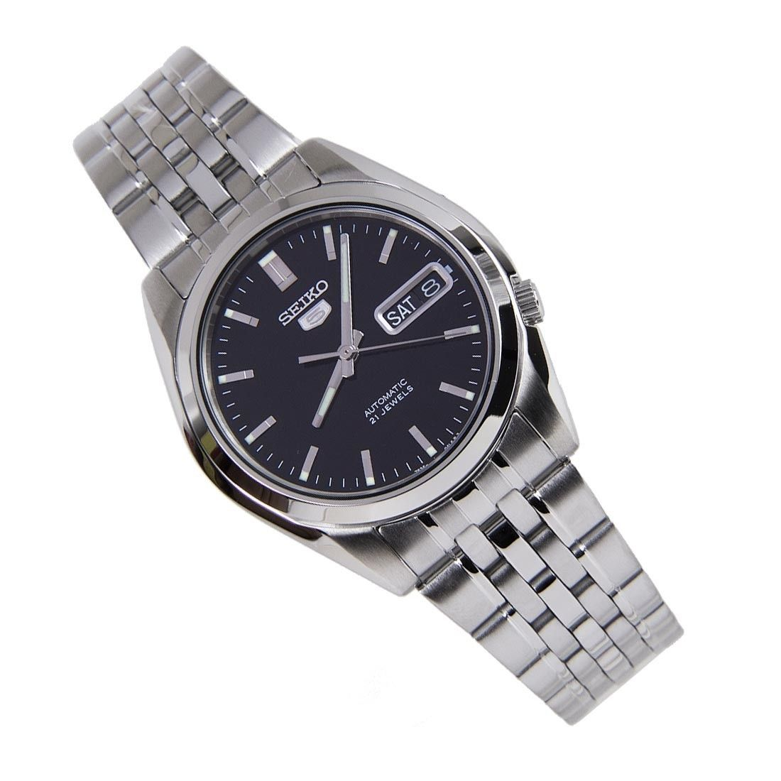 Sports Watch Store - SNK361K1 SNK361K Seiko 5 Analog 21 Jewels WR30m Mens Classic Silver Stainless Watch, $78.00 (http://www.sports-watch-store.com/snk361k1-snk361k-seiko-5-analog-21-jewels-wr30m-mens-classic-silver-stainless-watch/)