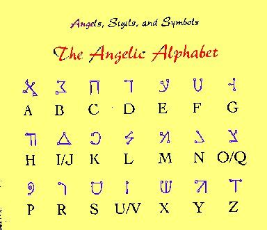 angelic alphabet wwwpixsharkcom images galleries