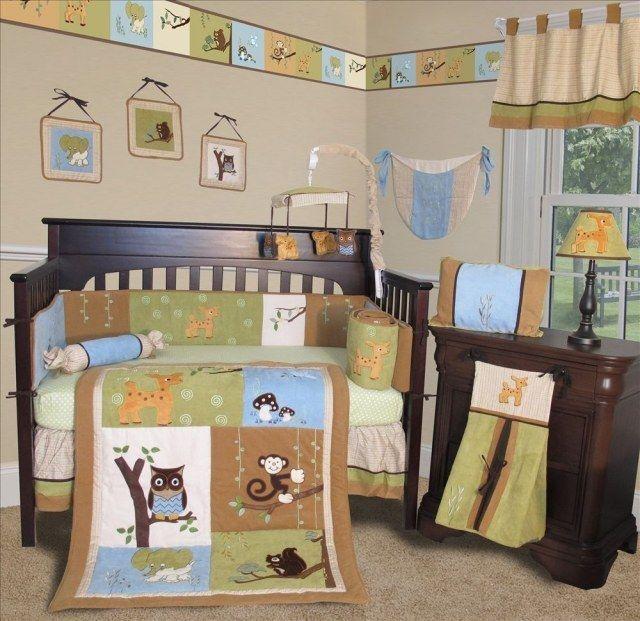 Décoration chambre bébé - 31 idées originales thème hibou ...