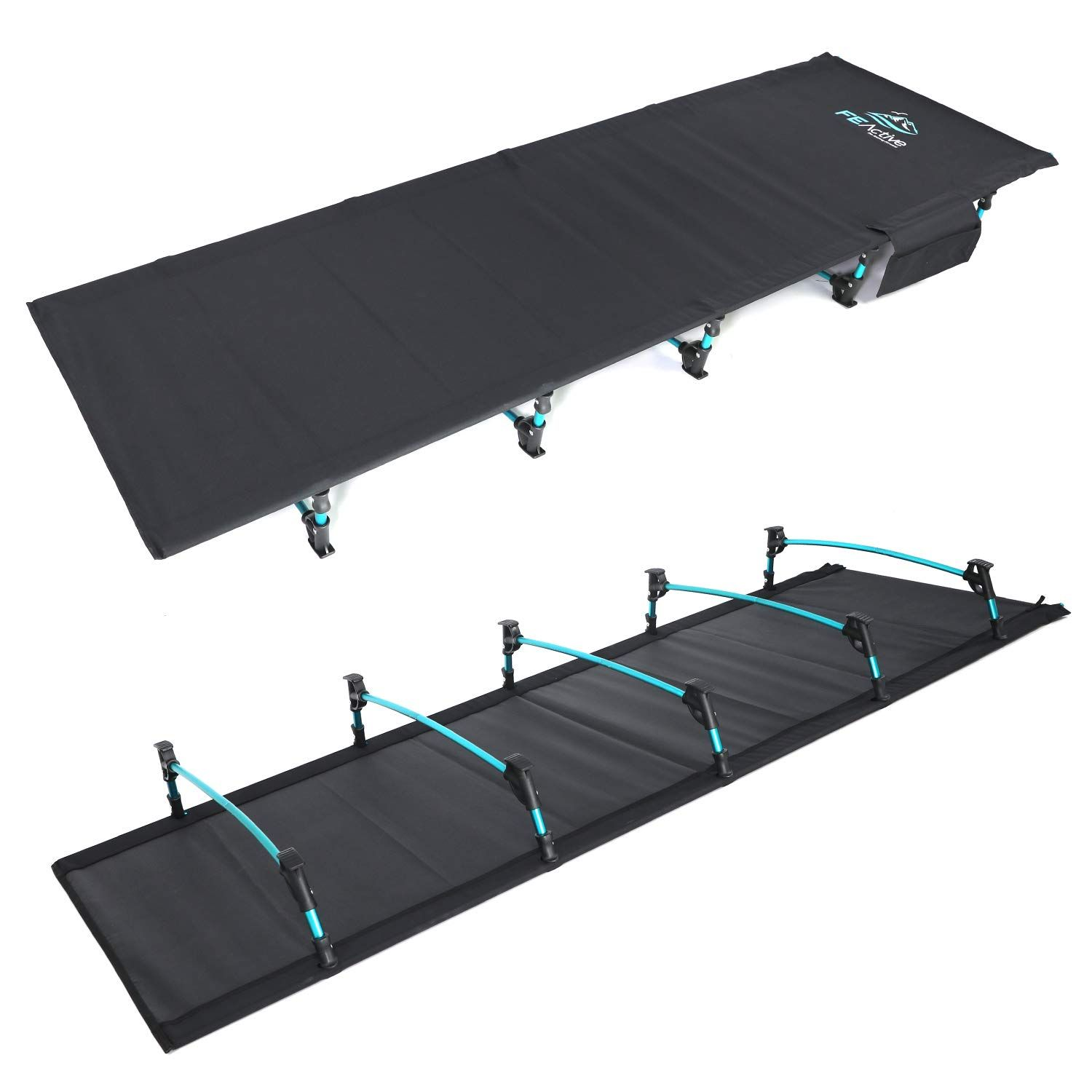 - FE Active - Compact Folding Cot Built With Full Aluminum Designed