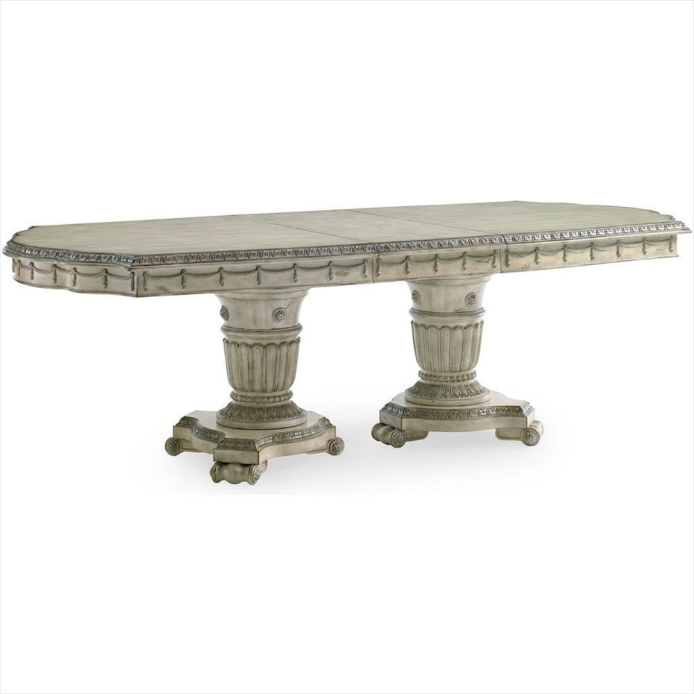 SN-3062-936 Schnadig Empire II Double Pedestal Dining Table