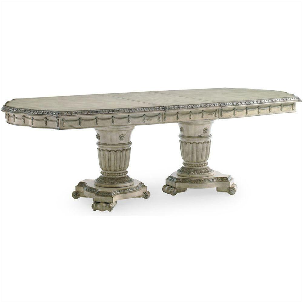 Sn 3062 936 Schnadig Empire Ii Double Pedestal Dining Table Double Pedestal Dining Table Dining Table Caracole Furniture [ 1000 x 1000 Pixel ]