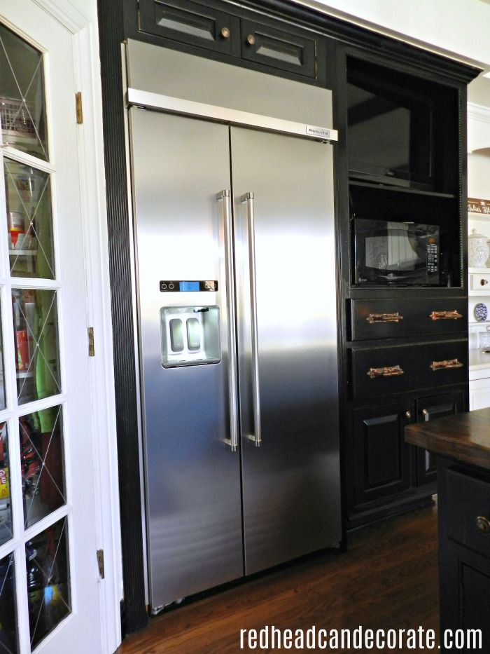 Our Built-In Fridge Fiasco | For the Home | Built in refrigerator ...