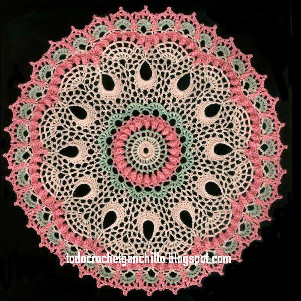 Todo crochet | Pinterest | Carpetas crochet, Crochet patrones y Carpeta
