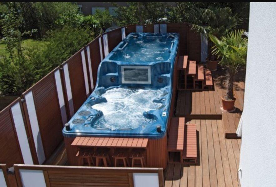 Schwimm Whirlpool Bahamas Elegance Luxury Garten Pinterest