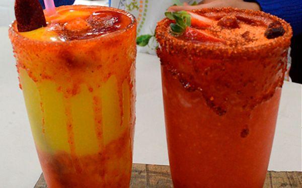 how to make mangonadas or chamoyadas