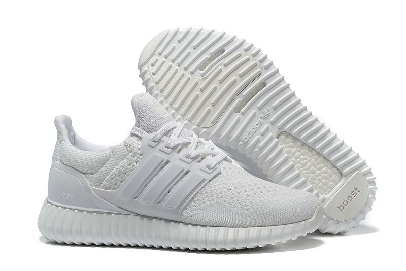 2016 2017 UK Trainers Adidas Yeezy Ultra Boost 2016 All White Spring Summer Running  Shoes