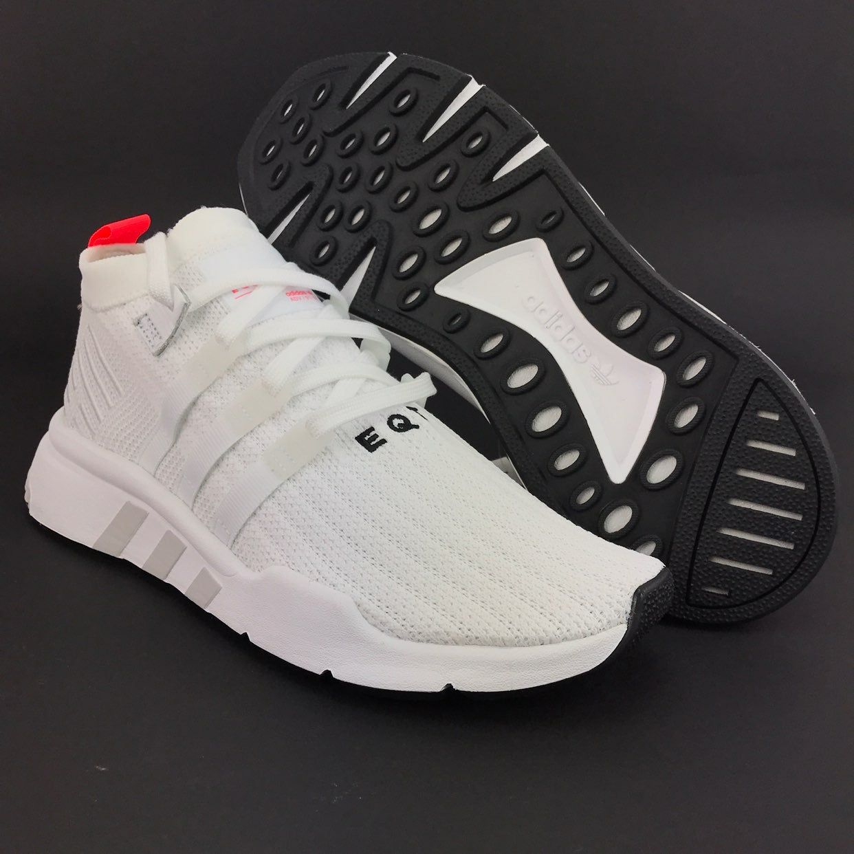 Adidas Men's EQT Support Mid ADV Primeknit White Running