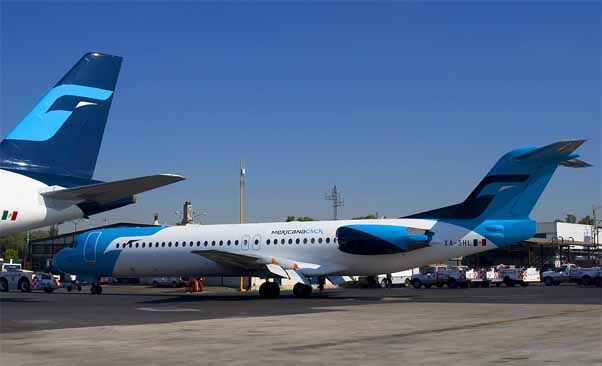 New Livery for Mexicana Click