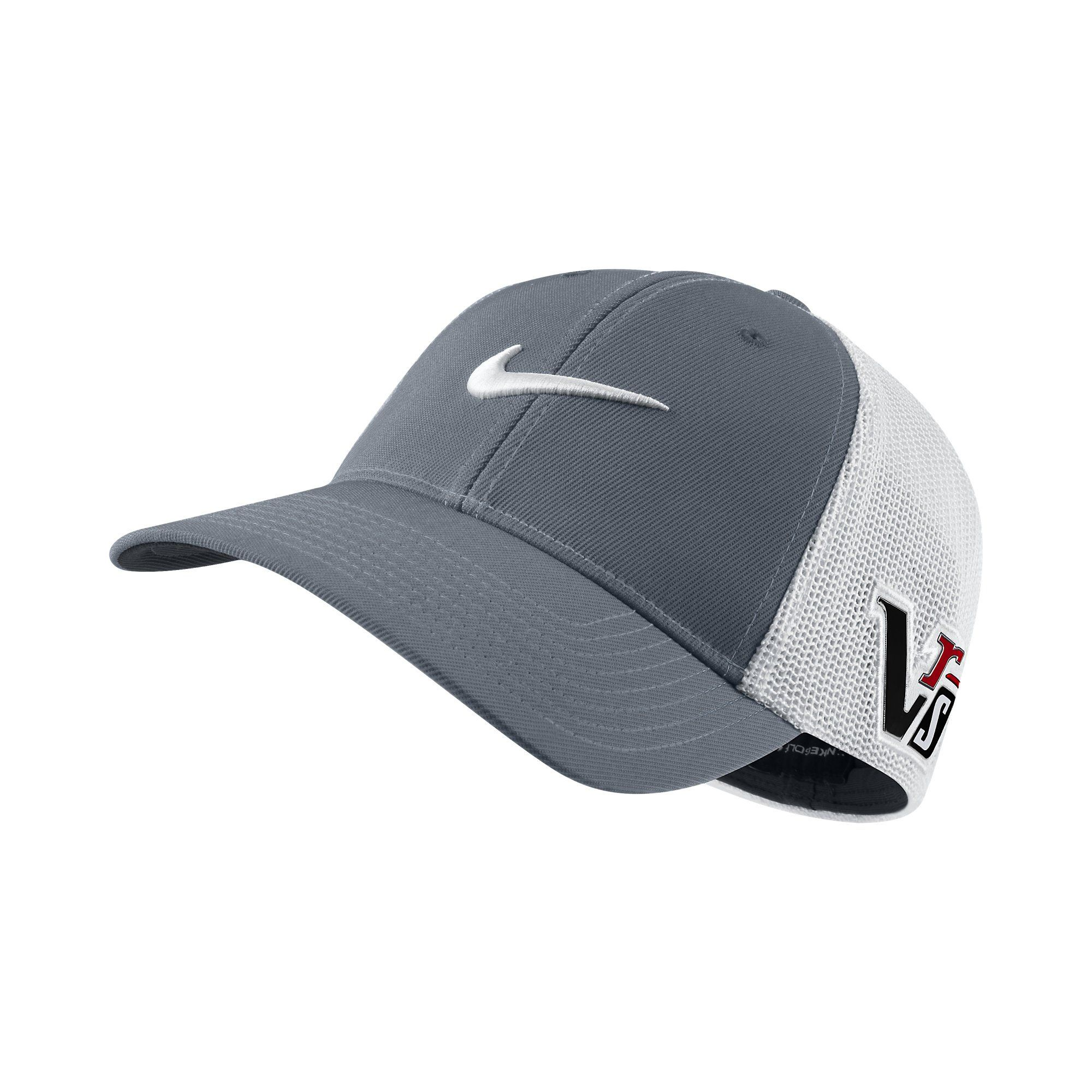 c2dea69f2d90cc Amazon.com: Nike Men's Tour Flex Fit Golf Cap Hat, Dark Grey/White, M/L:  Clothing