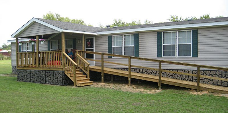 Mobile home porch designs with ramp on this page you 39 ll for Ada mobile homes